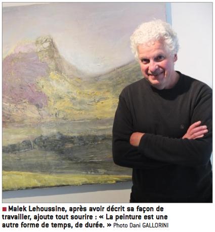 Malek Lehoussine et ces œuvres
