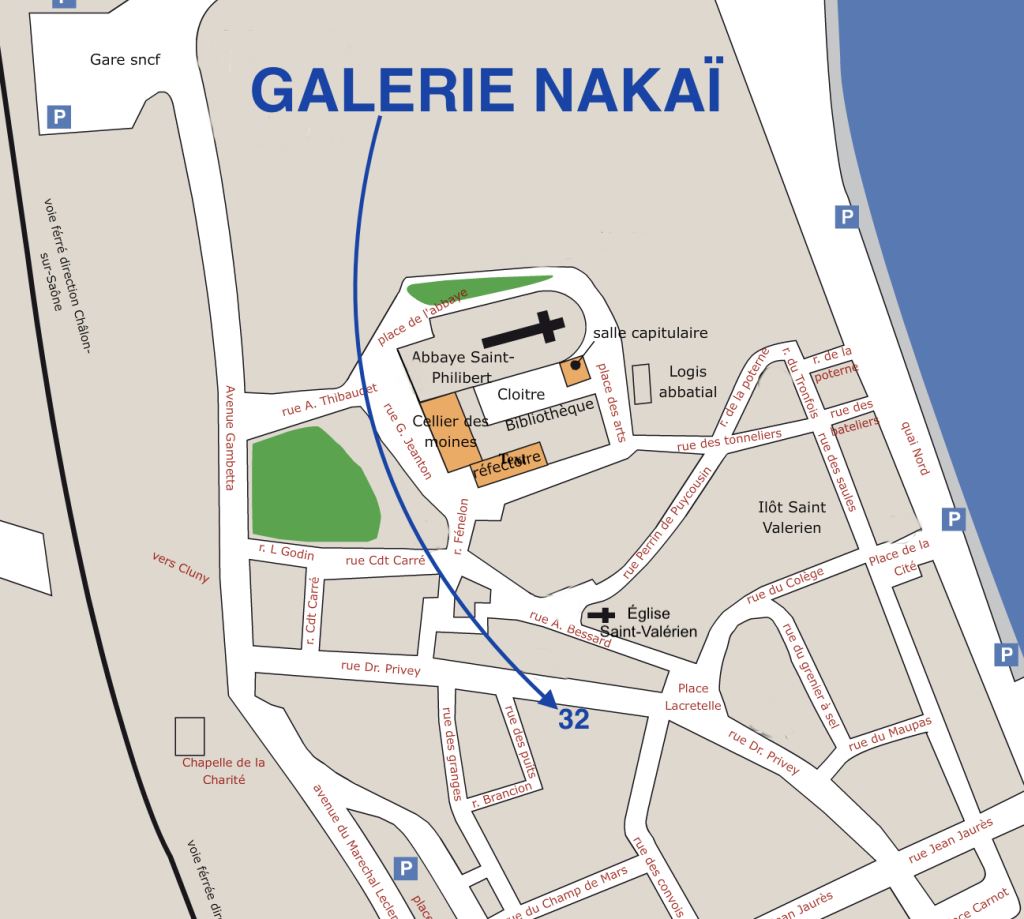 Galerie à Tournus Nakai Plan