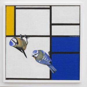 Librement après Mondrian Jos Verheugen