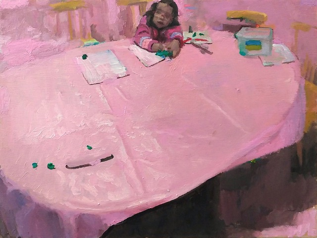 7-la table rose